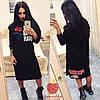 Женское трикотажное платье , фото 2