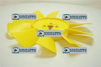Вентилятор 3302 10 лопаст Желтый ГАЗ-2217 (Соболь) (3302-1308010)