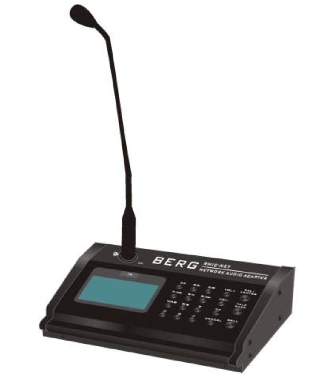 Мікрофонна консоль IP, Berg, RMIC-NET