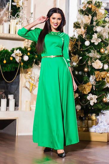 Женское длинное платье в пол