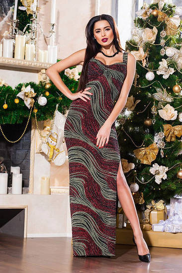 Вечернее платье женское в пол
