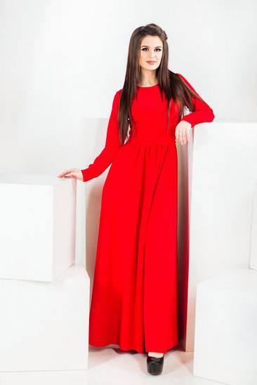 Женское нарядное платье в пол