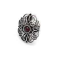 Кольцо Вифиния серебро (рубин)