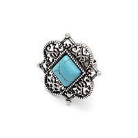 Кольцо Никея серебро (бирюза), фото 1