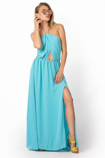 Женское вечернее платье в пол