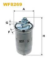 Фильтр топливный WF8269/PP839/5 (производство WIX-Filtron), ABHZX