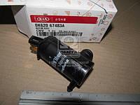 Мотор омывателя лобового стекла (пр-во Mobis) 0K62067483A