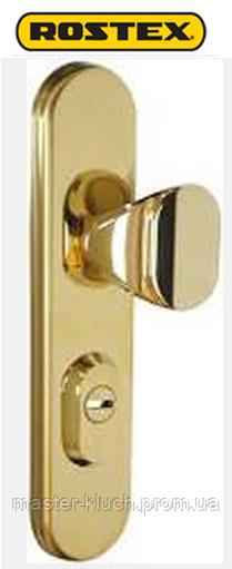 ROSTEX® R-4 (нажимная),R-1 (не поворотная)  Universal титановое золото