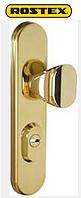 ROSTEX® R-4 (нажимная),R-1 (не поворотная)  Universal титановое золото, фото 1