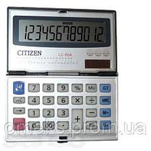 Карманный калькулятор CITIZEN 80а