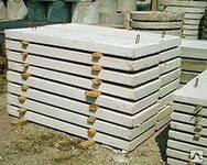 Крышка лотков бетонных П8д-8