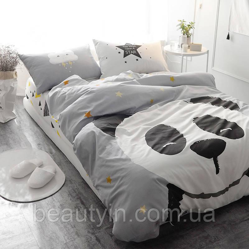 Комплект постельного белья Большая панда (полуторный) Berni