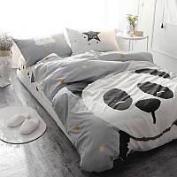 Комплект постельного белья Большая панда (полуторный) Berni, фото 1