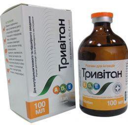 Тривитан 100 мл комплексный витаминный препарат для животных