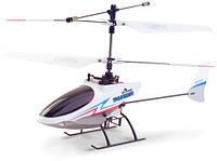 Вертолёт 4-к микро р/у 2.4GHz Xieda 9998 соосный (белый)