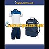 Комплект Crew (поло+шорты) и рюкзак Estadio