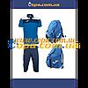 Комплект Crew (поло+шорты) и рюкзак Diamond