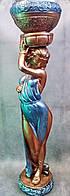 Скульптура Афродита (бронза цветн.) 102 см искусственный камень