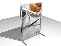 Штендер Т-образный, формат 600х900 мм (Нанесение пленки: Аппликация пленками ORACAL, 2 слоя; Основание:, фото 1