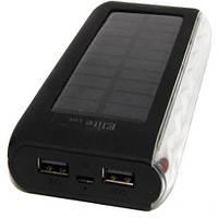 Солнечное зарядное устройство Power Bank Elite lux EL-A802 LI-po 40000 mah