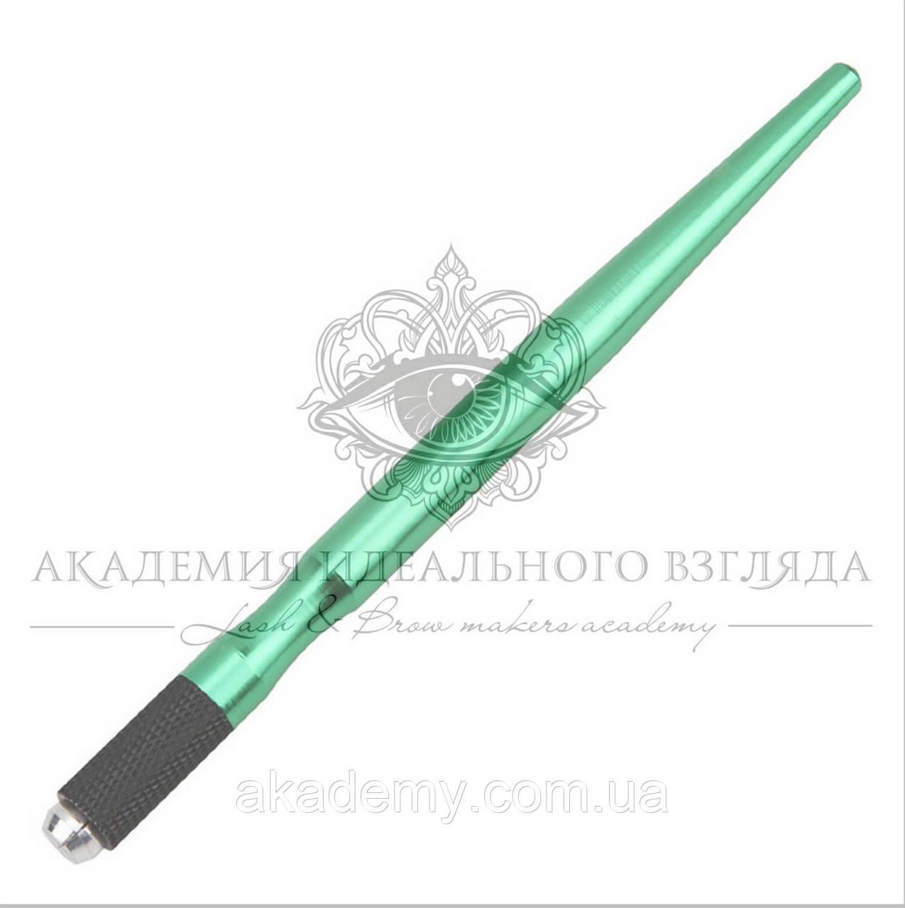 Ручка-манипула (алюминиевая зеленая)