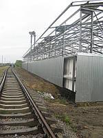 Зернохранилища. Луганск