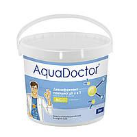Химия для бассейна Aquadoctor MС-Т комбинированый хлор (3в1)  5кг