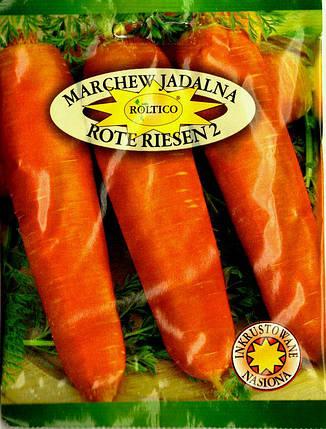 Польские семена моркови Роте Ризен 20г, фото 2