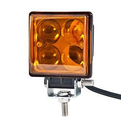 Автолампа світлодіодна EPISTAR Lens Spot Amber LED BOL0403QLA