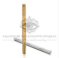 Ручка-манипула для микроблейдинга односторонняя (золотая)