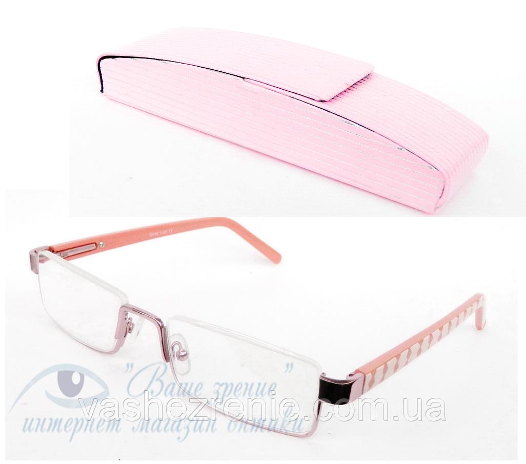 Окуляри жіночі для зору з діоптріями +/- Код:2103