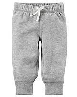 Серые штанишки на флисе Carter's для мальчика