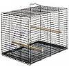 Клетка-переноска Pappagalli для средних и крупных попугаев 37.5*40*51 см. Ferplast