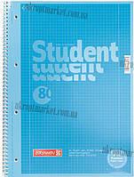 "Колледж-блок (A4, 80стр., клетка) Premium - Brunnen ""KT"" - купить канцелярию оптом ZB-10"