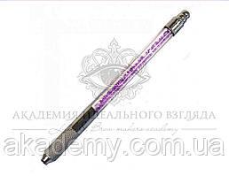 Ручка-манипула для микроблейдинга (со стразами)