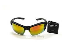 Мужские солнцезащитные велоочки очки, спортивные поляризационные очки для велосипеда