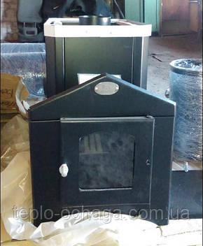 """Печка для бани """"Классик"""" с выносной топочной камерой и стеклом, фото 2"""