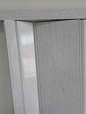Дверь раздвижная глухая белый ясень 610, 810*2030*6мм, фото 3