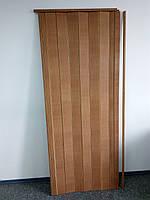 Двери гармошка глухая  503 бук1000*2030*6 мм