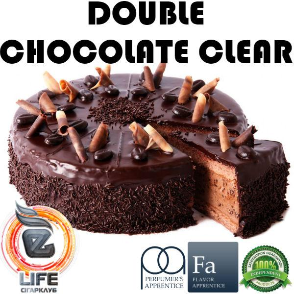 Ароматизатор TPA Double Chocolate (Clear) Flavor (Шоколадный торт)