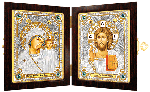 Наборы для вышивания бисером православные складни