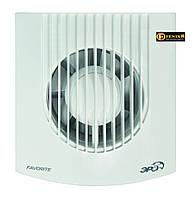 Вентилятор осевой вытяжной D100мм,обратный клапан,DISC, Эра 60-654
