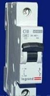 Автоматический выключатель Legrand 1р 10А