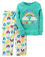 Пижама с флисовыми штанишками Carter's для девочки