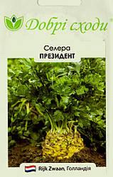 Семена сельдерея Президент 0,03г ТМ ДОБРІ СХОДИ