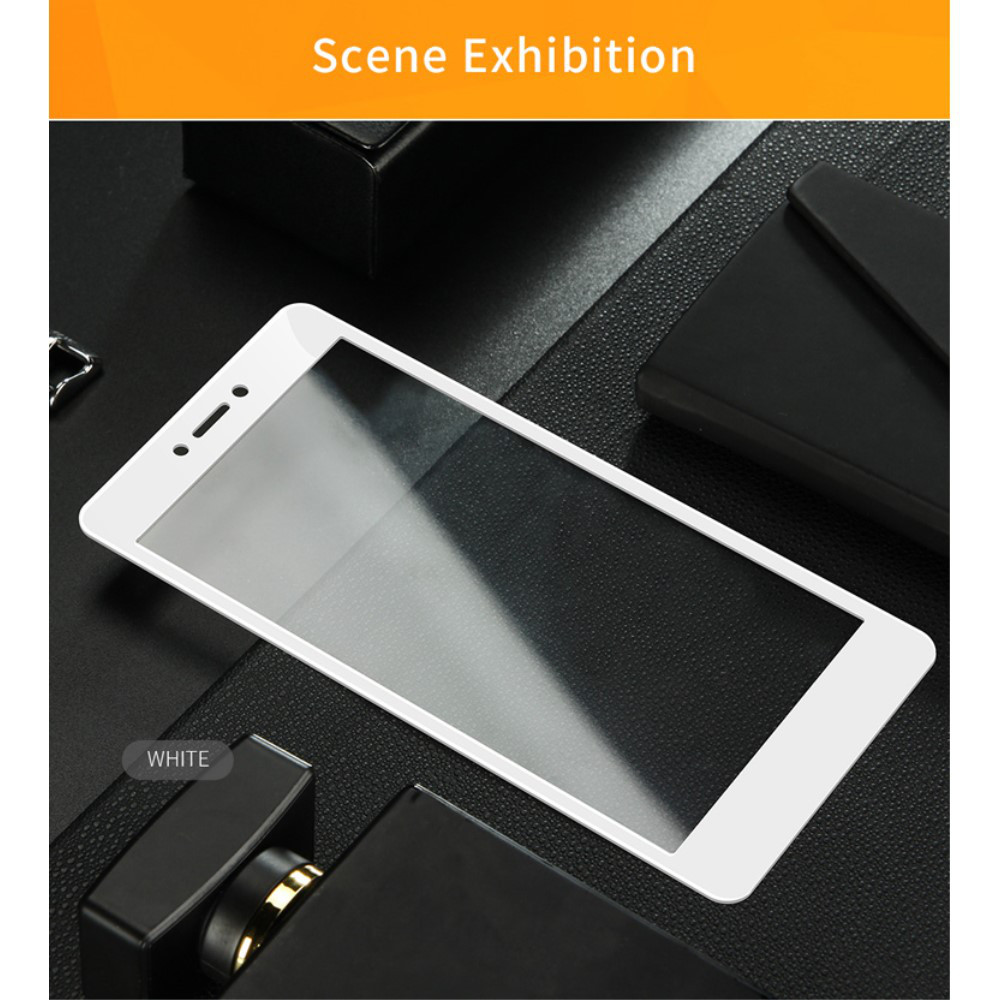 Захисне скло 3D Full Screen для Xiaomi Redmi 4X, Біле