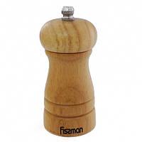 Мельница для перца Fissman 10*5 см. (Деревянный корпус, керамический механизм)