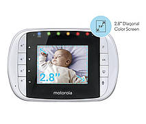 Видеоняня Motorola MBP33S, яркий цветной экран2,8 дюйма, фото 2