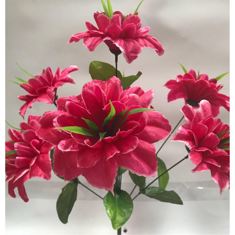 Искусственные цветы. Искусственный букет клематисов.