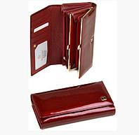 Кошелек женский натуральная кожа Bretton Gold W46 red